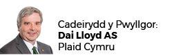 Dai Lloyd AC (Cadeirydd)