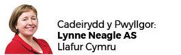 Lynne Neagle AC (Cadeirydd)