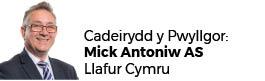 Mick Antoniw AC - Cadeirydd