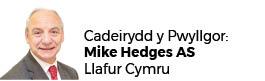 Mike Hedges AC (Cadeirydd)